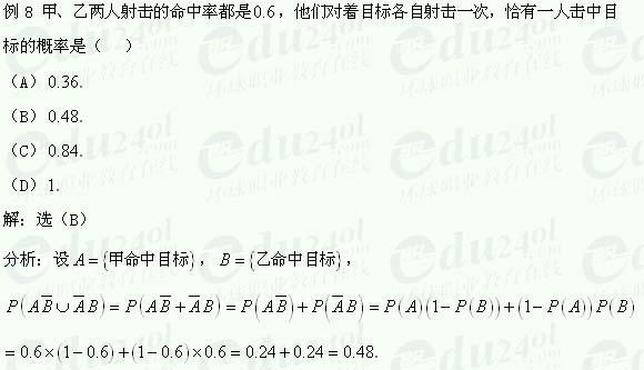 【江苏成考】千赢网页手机版文科数学讲义30